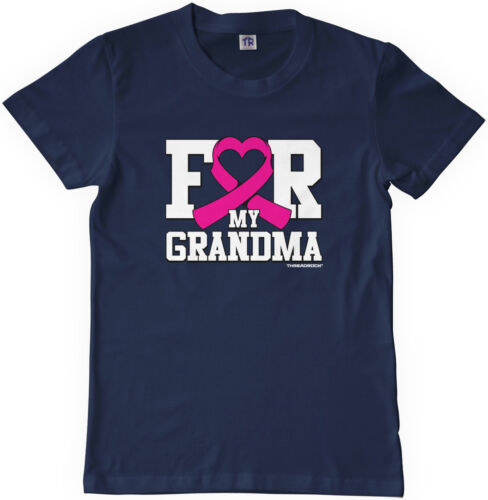 Threadrock Kids For My Grandma Breast Cancer Youth T-shirt