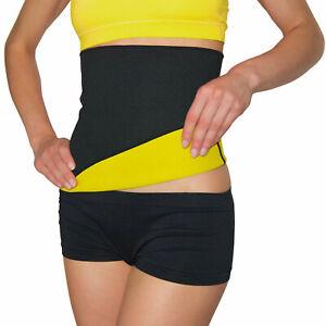 Damen Sweat Sauna Bauchweg gürtel Abnehmen Schwitzgürtel Schlank Shape rosa G L
