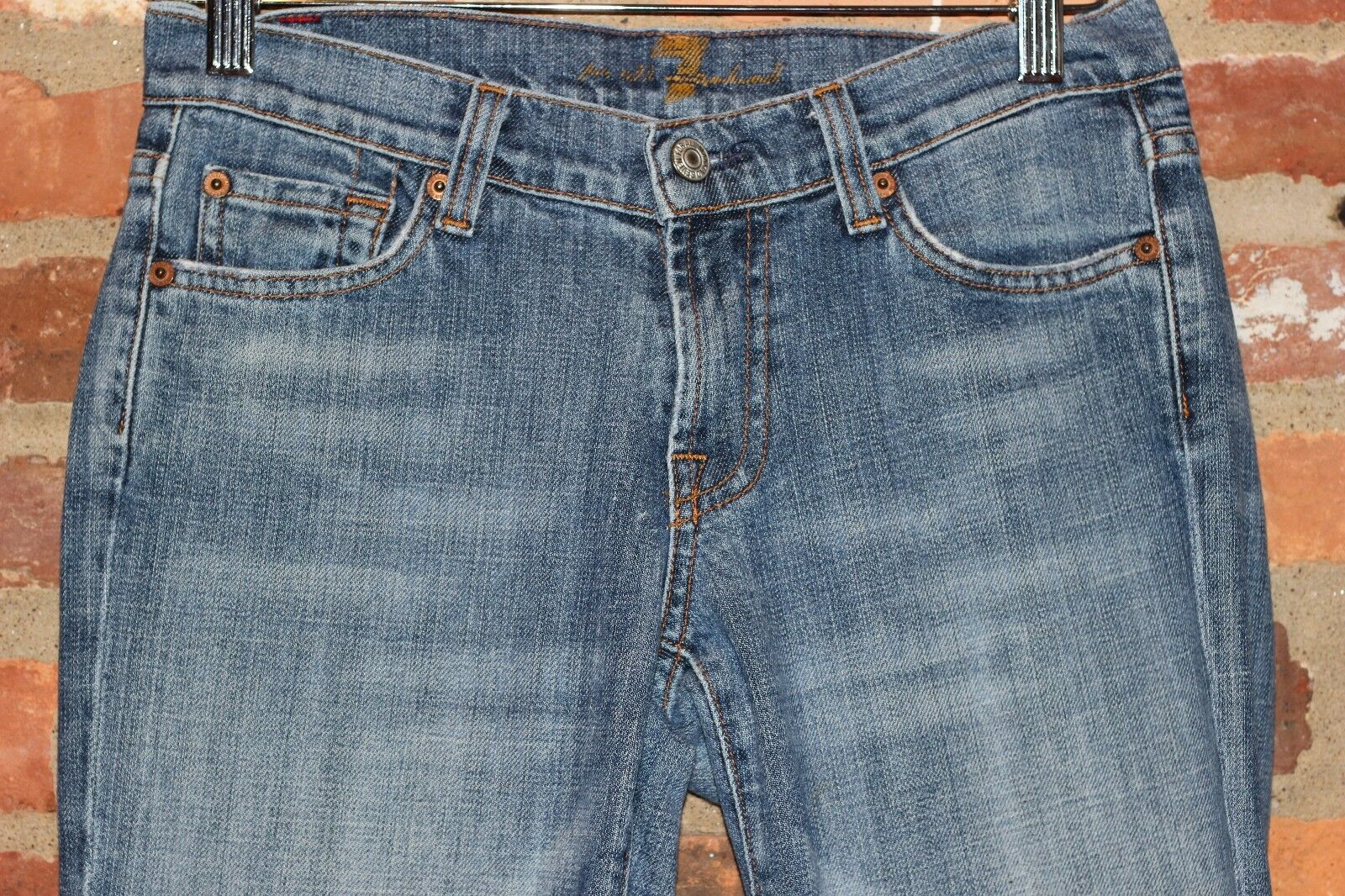 7 for Mankind Jeans by Jerome Dahan Size 26 Size 2 Fits Tall and Thin
