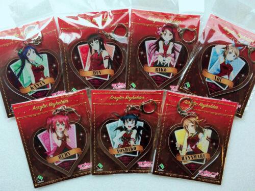 Magician Yoshiko Hanamaru Ruby You.. Sunshine! Love Live Acrylic Key Ring ver
