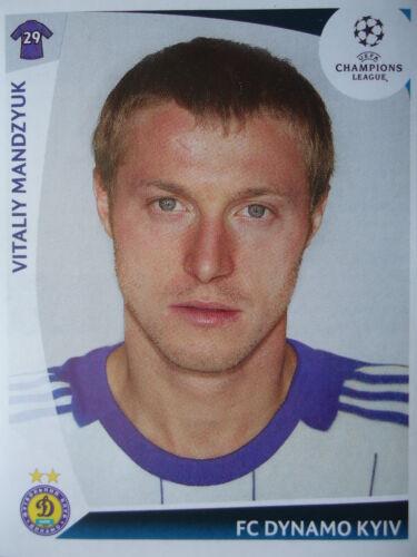Panini 382 Vitaliy Mandzyuk Dynamo Kyiv Kiew UEFA CL 2009/10