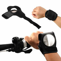 Adjustable Bicycle Wrist Safety Rear View Mirror View Rearview For Children Kids