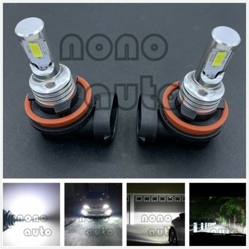 2X CSP H11 H8 H9 LED Headlights Bulbs 40W 7000LM Kit Low Beam Bright 6000K White