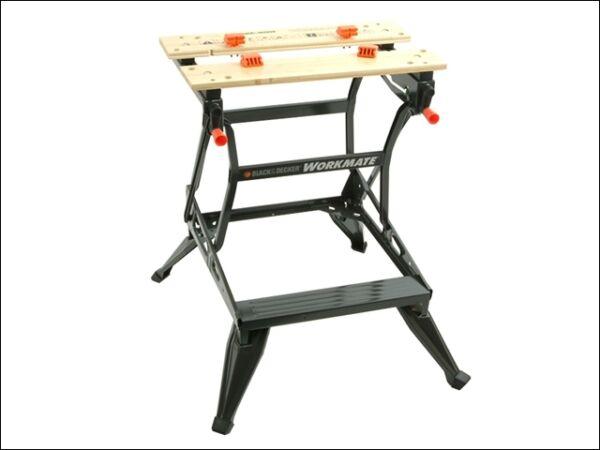 Black Amp Decker Workmate Wm536 Dual Height Work Bench Ebay