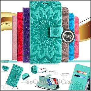 Etui-Coque-housse-SUNFLOWER-Cuir-PU-Leather-Case-Cover-Huawei-Collection-Film