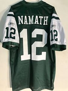 Wholesale Reebok Authentic NFL Jersey New York Jets Joe Namath Green sz 48 | eBay  free shipping