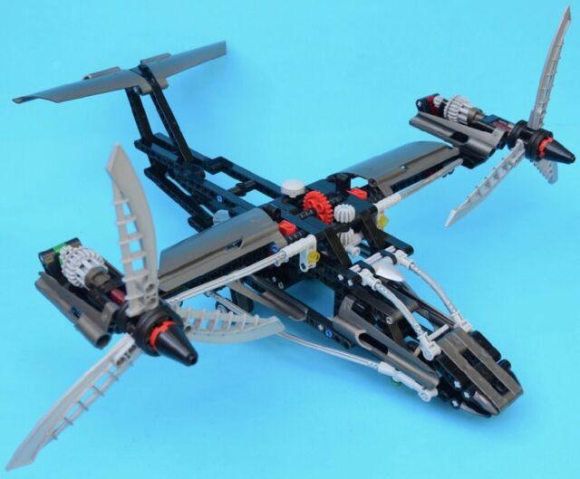 LEGO 8434 - Aircraft - TECHNIC - 2004 - 100% COMPLETE - VTOL