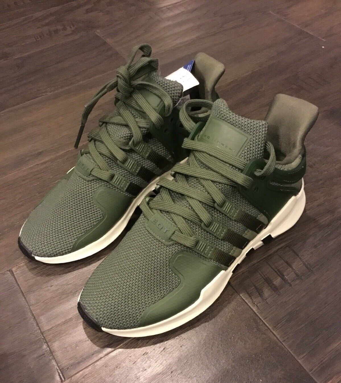 Women's Adidas EQT Support ADV W Runner shoes Sneakers CP9689 Size 6 New Green