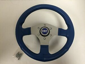 13-5-Inch-Steering-Wheel-Fiat-128-X19-124-500-600-850-Spider-Abarth-NEW-358