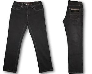 ORIGINAL-Carlo-Colucci-Herren-STRETCH-Jeans-Hose-ENRICO-Black-Wash