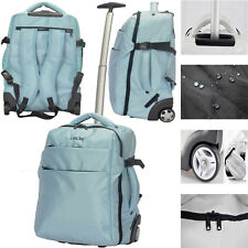 6a82536e0e5e 3 in 1 Wheeled Cabin Trolley Travel Bag Hand Luggage Backpack Suitcase  Holdall