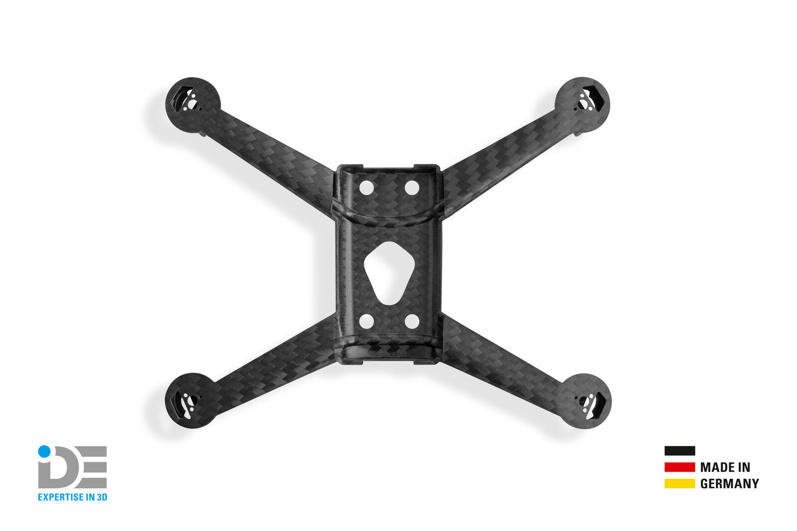 IDE carbospider F. Parrot Bebop Drone 2 FULL CARBON Central Cross QUADRO FRAME