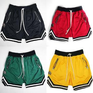 ecc595fcd63 2019 Men s Summer Hip Hop Mesh Gym Sport Basketball Shorts ...