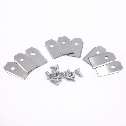 Schrauben für Gardena R160Li 9x Klingen Messer Stahl 0,75mm Sileno Sileno+