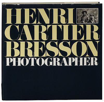 Henri Cartier-Bresson Photographer 1992 revised ed. Place de l'Europe in rain