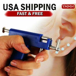 Professional Ear Nose Navel Body Piercing Gun With 98pcs Studs Tool Kit Set