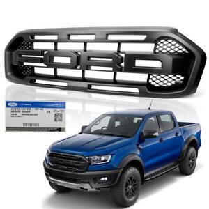 Genuine-Front-Grille-Grill-Black-Trim-For-Ford-Ranger-Raptor-Pickup-18-2019