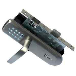 Vision Security Z Wave Door Lock With Handle Zm1702