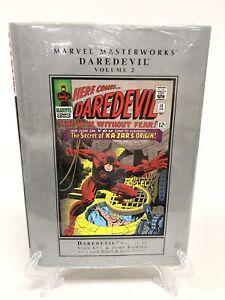 Daredevil-Volume-2-Collects-12-21-Marvel-Masterworks-HC-Hard-Cover-New-Sealed