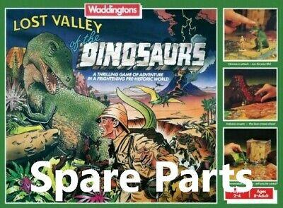 Vintage Waddingtons Lost Valley Of The Dinosaurs Game Spares 1 Orange Explorer