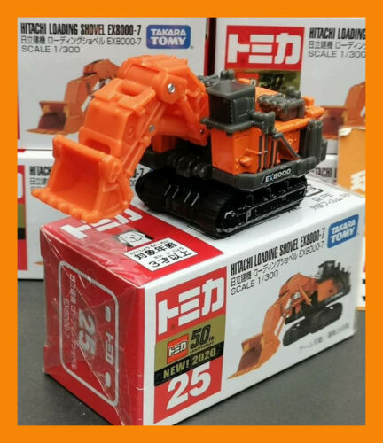 APR 2020 #25 Hitachi Construction loading shovel EX8000-7 TOMICA TOMY TAKARA