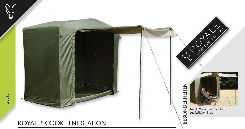 Fox Royale Cook Tent Station Angelzelt, Kochzelt zum Karpfenangeln, Karpfenangeln, Karpfenangeln, Karpfenzelt 259233
