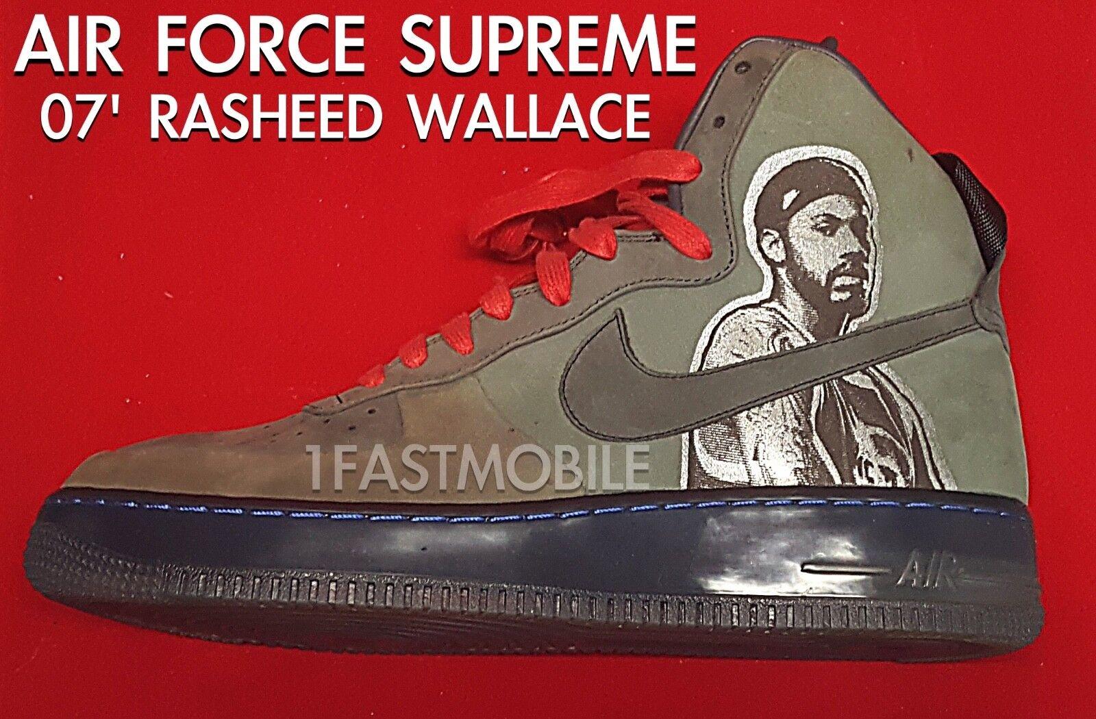 Air Force 1 Supreme 07 Rasheed Wallace