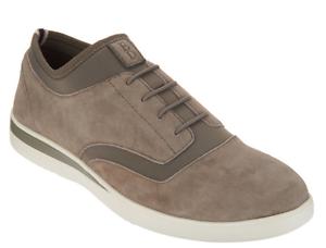 ED Ellen DeGeneres Suede Bungee Sneakers - Atala Stone Tennis Shoes Womens 10W