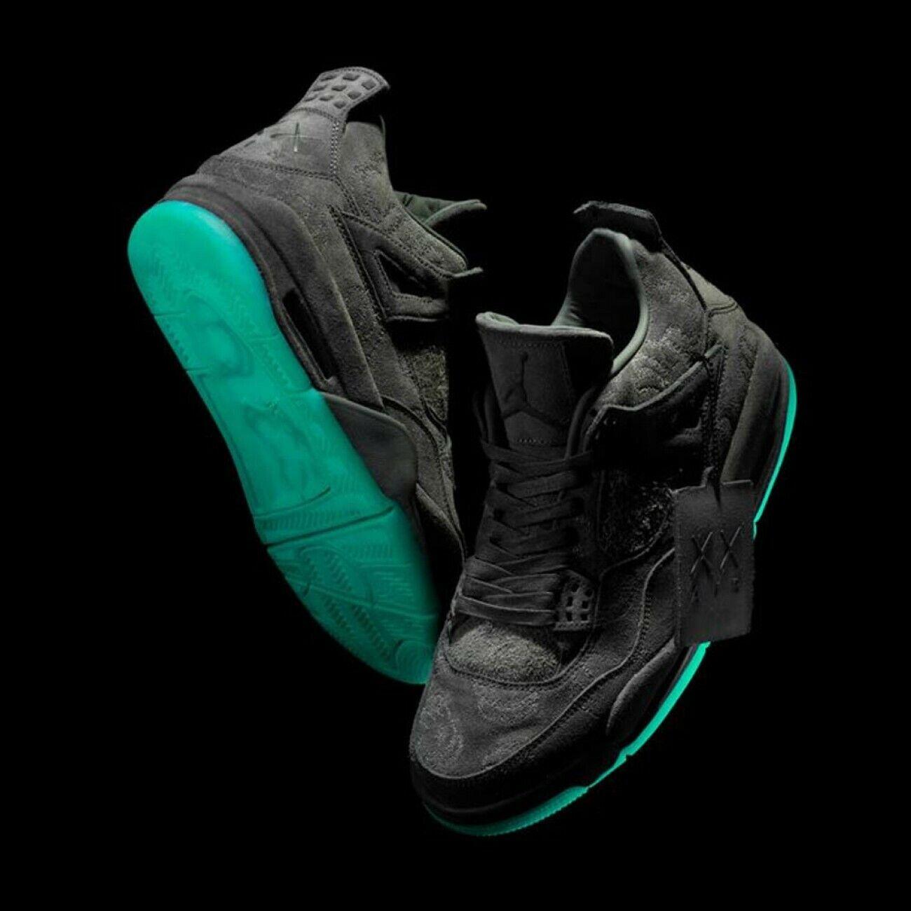 online store 4d127 a96d6 Nike Nike Nike Air Jordan 4 IV Retro Kaws Black Size 14. 930155-001