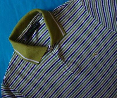 Disciplinato Polo T-shirt Man Etro Milano Tg.m Made In Italy Rare