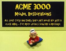 Popeye Paddle Wagon Corgi 802 Reproduction Repro Painted Sweet Pea Figure