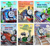 Thomas And Friend 6 Beginner Books Crack In Track,go Train Go,fast Train Slow ++