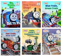 Thomas And Friend 6 Beginner Books Crack In Track,go Train Go,fast Train Slow ++