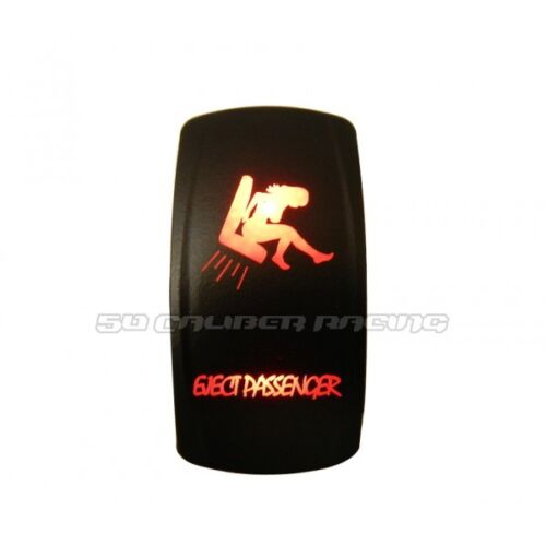 Red Passenger Eject Marine Rated WaterProof Rocker Led Switch Fit Donzi Boat SKI