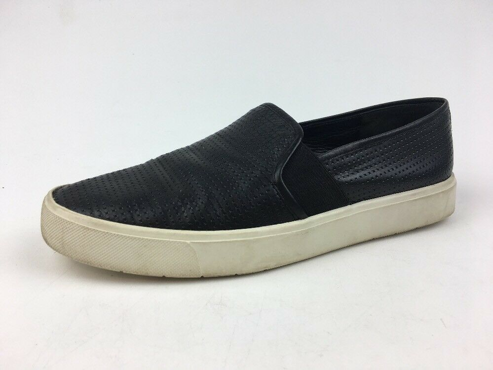 Vince Blair Slip On Perforated Leather shoes Women's Size 6.5M, Black  321