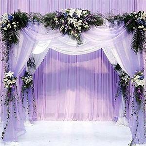 Wedding diy decor organza silk flower party arches happy door image is loading wedding diy decor organza silk flower party arches junglespirit Images