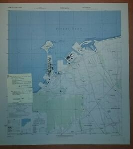 US Army Map City Plan Of Niihama Ehime Prefecture Shikoku - Niihama map