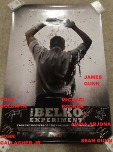 THE-BELKO-EXPERIMENT-SIGNED-MOVIE-POSTER-JAMES-GUNN-JOHN-GALLAGHER-TONY-GOLDWYN