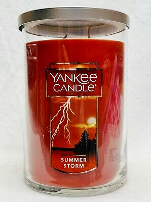 1 Yankee Candle SUMMER STORM Scented Classic Tumbler Jar ...