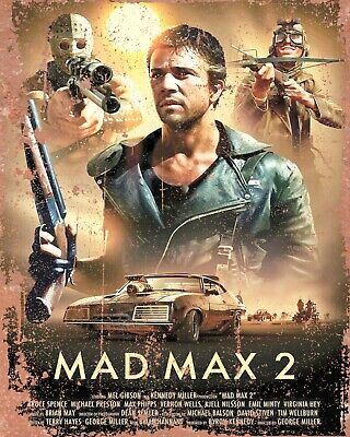 Mad Max Mel Gibson Beyond Thunderdome Movie Film Metal Sign Advertisement Plaque