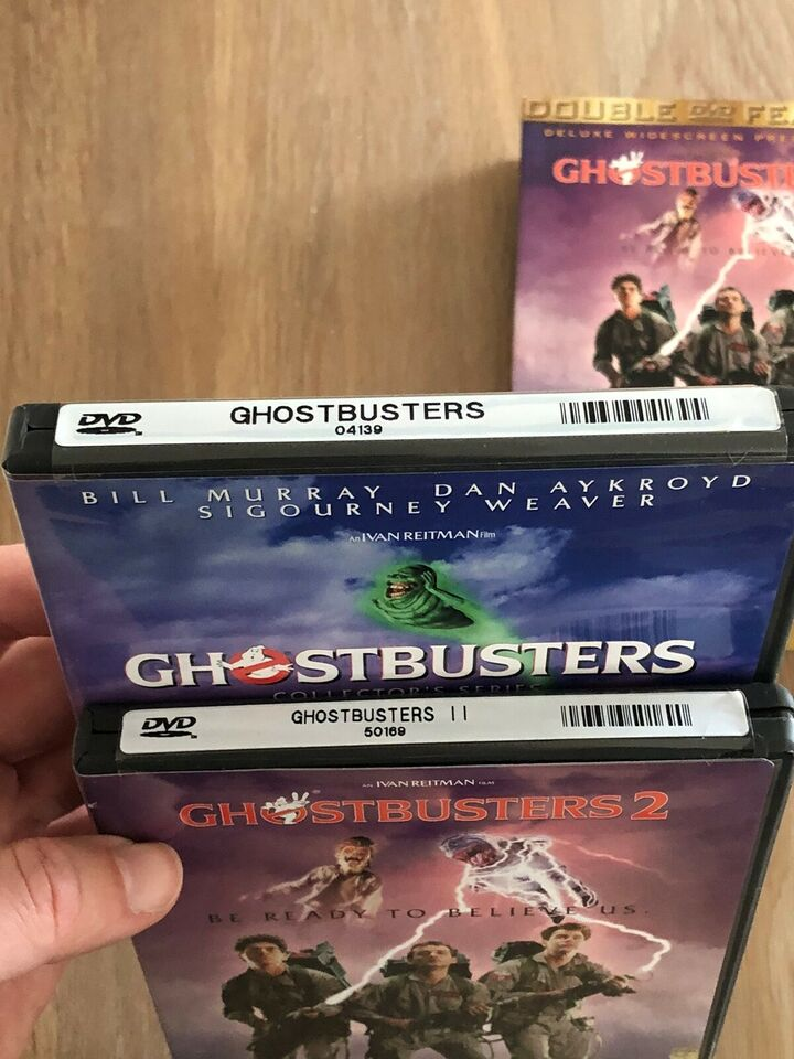 GHOSTBUSTERS 1+2, DVD, action