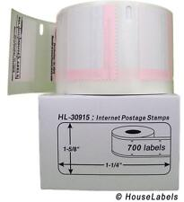 1 Roll of 700 Internet Postage Labels for Dymo® Labelwriters® 30915 BPA