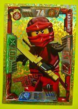 Lego Ninjago Serie 2 LE 1 Legendärer Kai Ninja Limitierte Trading Card Neu