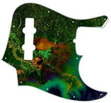 J Jazz Bass Pickguard Custom Fender Graphic Guitar Pick Guard  Mississippi Delta