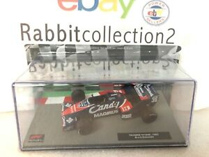 DIE-CAST-034-TOLEMAN-TG183B-1983-BRUNO-GIACOMELLI-034-FORMULA-1-COLLECTION-1-43