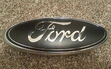 """2011-2016 Ford F250 F350 Super Duty Grill 13""""  MATTE Black  Emblem custom"""