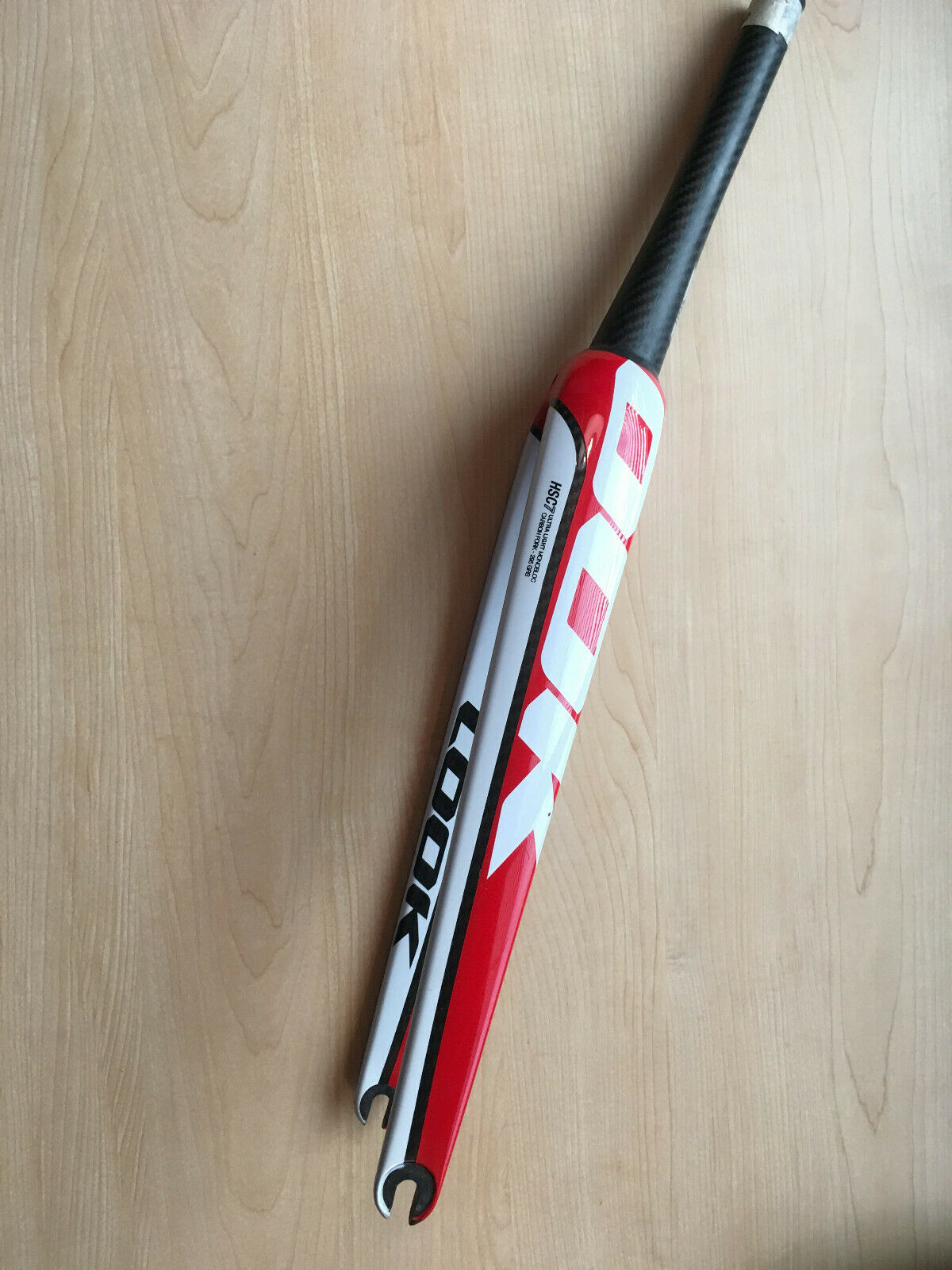 Look HSC7 Monobloc Carbon Fork, for  Look 695 (Large)  sell like hot cakes