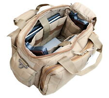 Explorer Range Gear Bag With Adjustable Shoulder Strap and Padded Handle R1 Tan