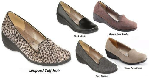 MSRP $65 Hush Puppies Leopard Calf Hair Soft Style Lindzey Wedges