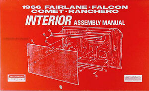 1966-Mercury-Interior-Assembly-Manual-Comet-Caliente-Cyclone-Capri-Factory